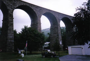 Starrucca Viaduct by MuscoviteMica