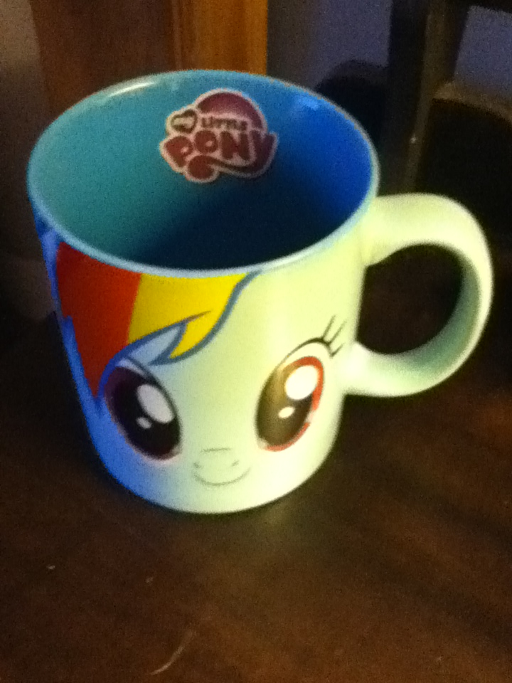 Rainbow mug by Zombie-Spartan