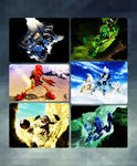 The Heros Of Bionicle Collage