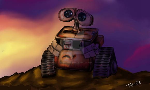 Wall-E: Sunset