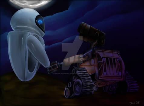 Wall-E: Hold my hand
