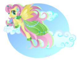 Fluttershy by MamaJebbunFanart