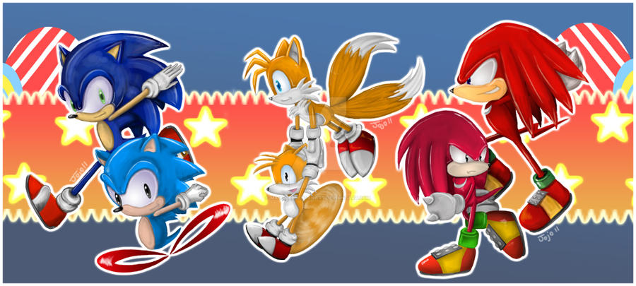 sonic generations how to change character