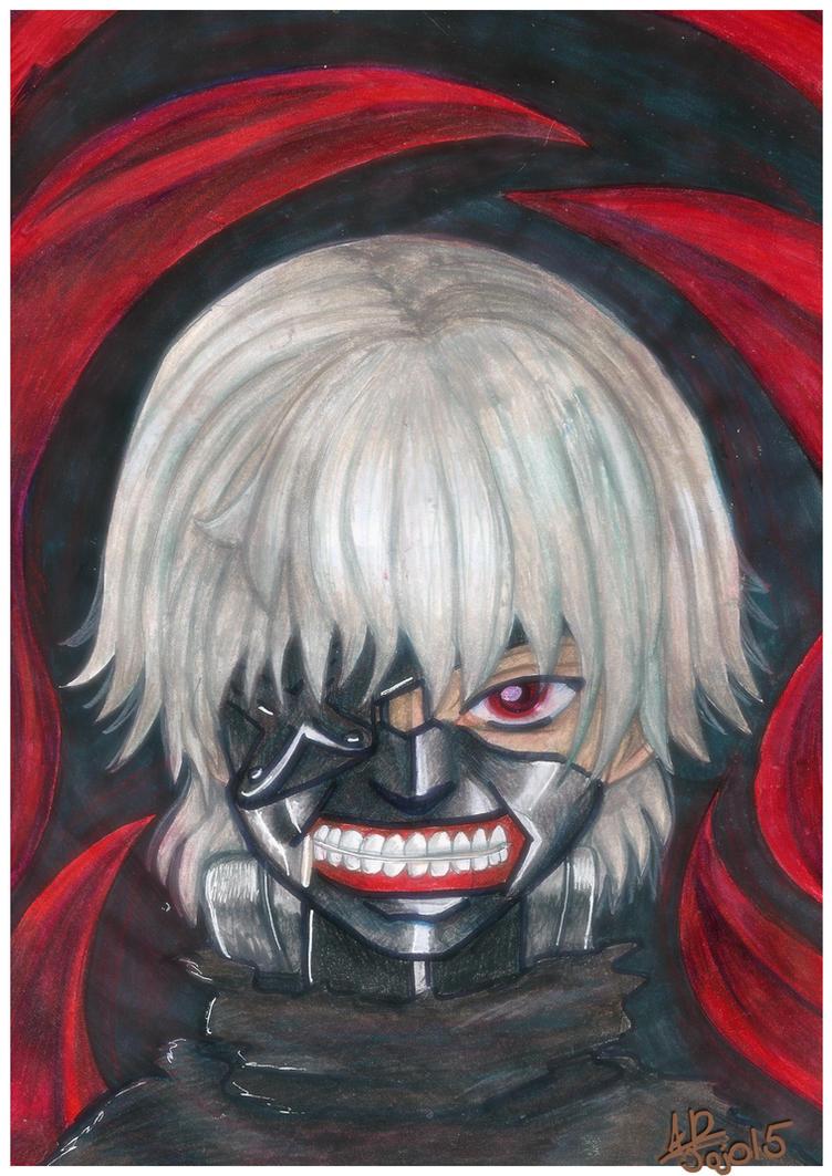 Tokyo Ghoul by MamaJebbunFanart
