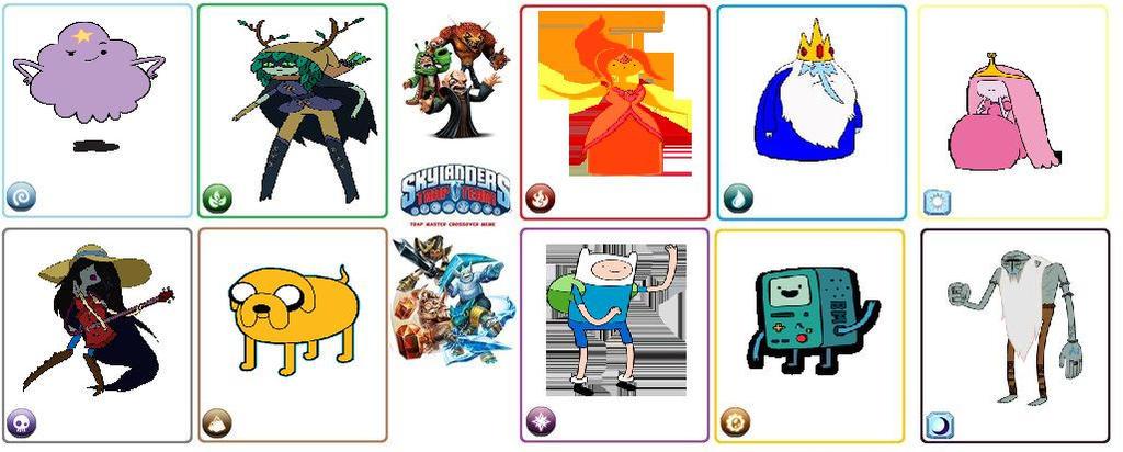 Adventure Time Skylanders by SuperMarioMaster170