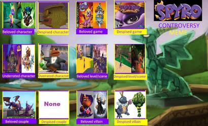 My Spyro Conterversy Redo by SuperMarioMaster170