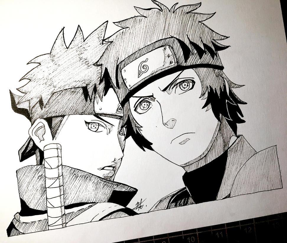 Shisui And Kagami Uchiha By Artxnoa On DeviantArt