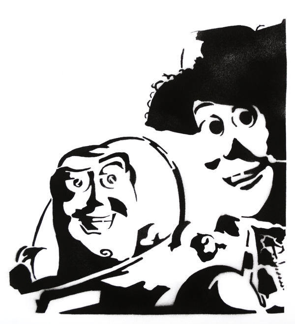 Toy Story 2 Stencil By Bozzcarr On DeviantArt