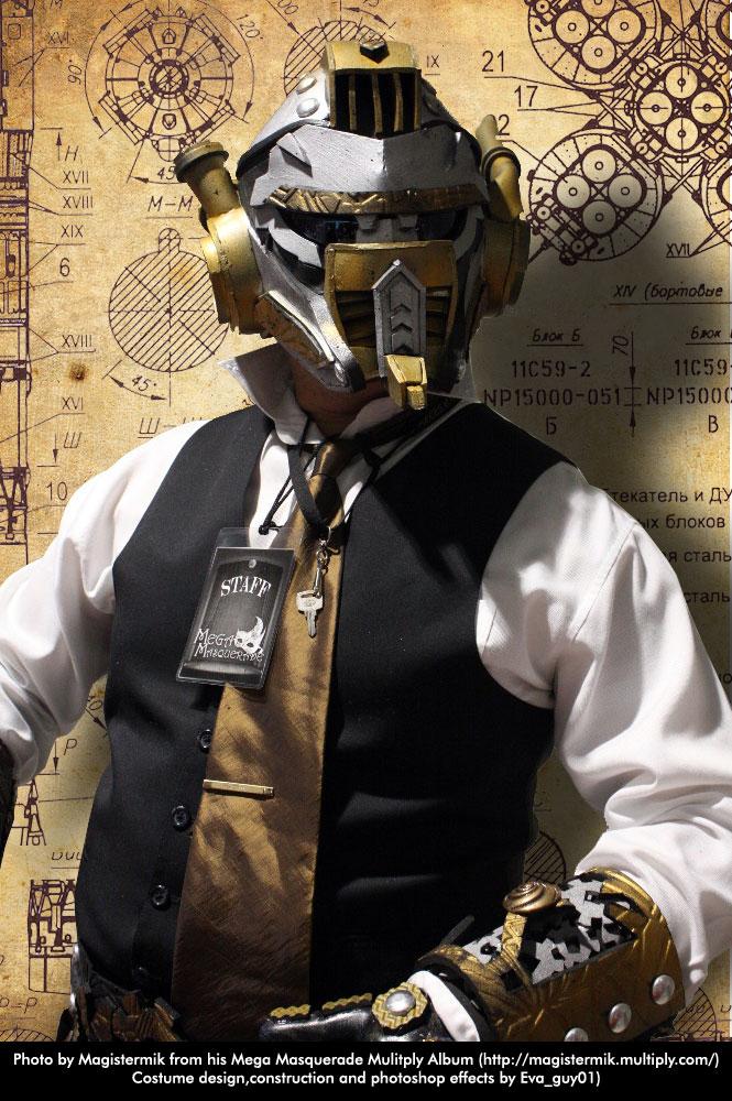 Masquerade Costume Ste&unk by eva-guy01 ... & Masquerade Costume: Steampunk by eva-guy01 on DeviantArt