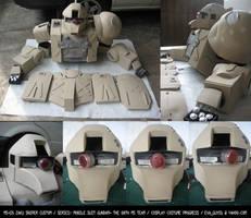 Zaku Sniper Custom Progress by eva-guy01
