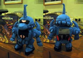 MS Gouf Plush Toy by eva-guy01