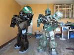 Zaku II and Zaku I Commander Type Customs