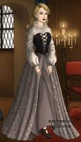 16th century Briar Rose or Aurora - Peasant Girl