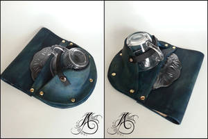 Leather Teacup Holster by JAFantasyArt