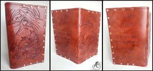 Smaug the Magnificent Leather Book Cover