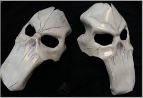 Leather Darksiders Death Mask by JAFantasyArt