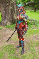 Copper Dragon Armor by JAFantasyArt