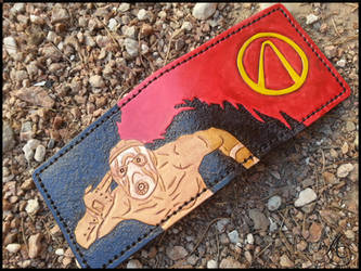 Borderlands Bandit Wallet by JAFantasyArt