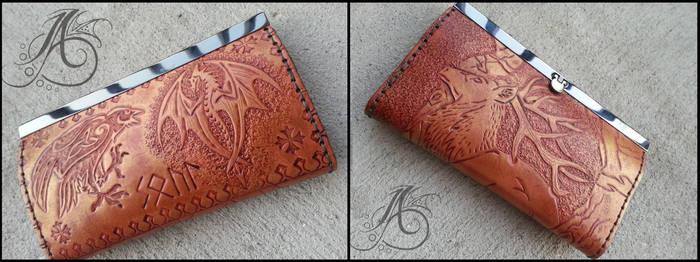 Personal Clutch Wallet by JAFantasyArt