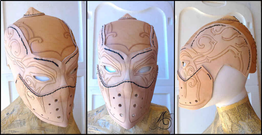 Judgement Arcana Mask Unpainted by JAFantasyArt