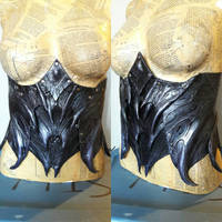 Abyssal Demon Leather Corset