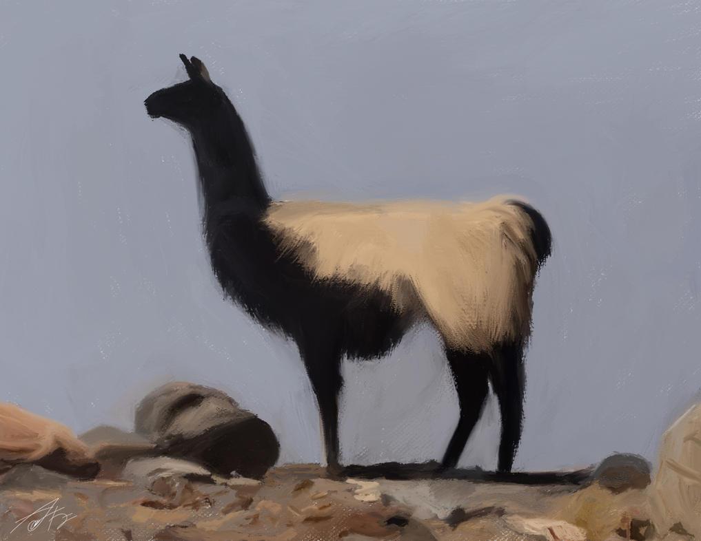 Llama-lone by adezulmy