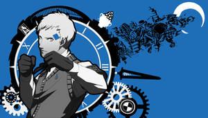 Akihiko Sanada - P3 Vita Wallpaper (P4G Style) by seraharcana