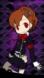Mokoto Yuki - Persona Q iOS Wallpaper