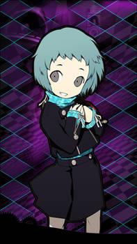 Fuuka Yamagishi - Persiona Q iOS Wallpaper