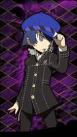 Naoto Shirogane - Persona Q iOS Wallpaper