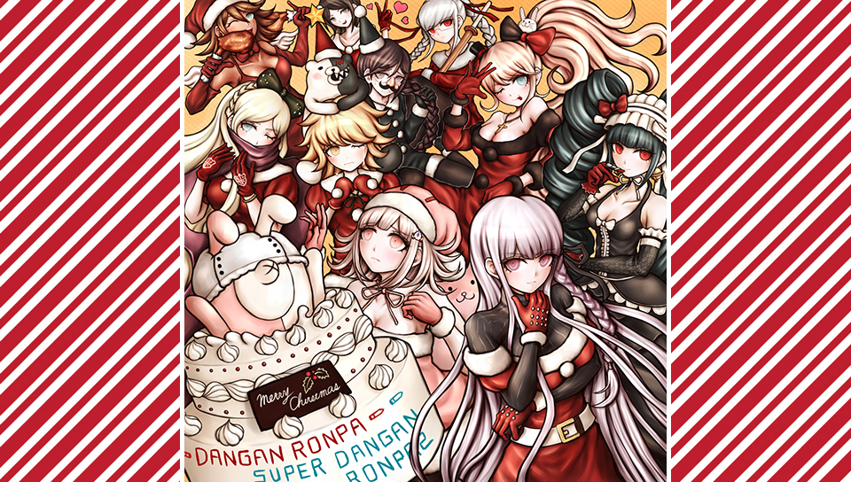 Danganronpa Christmas 2014 Vita Wallpaper 2 - Red by seraharcana ...