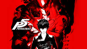 Persona 5 Key Art Wallpaper (PSL2015)