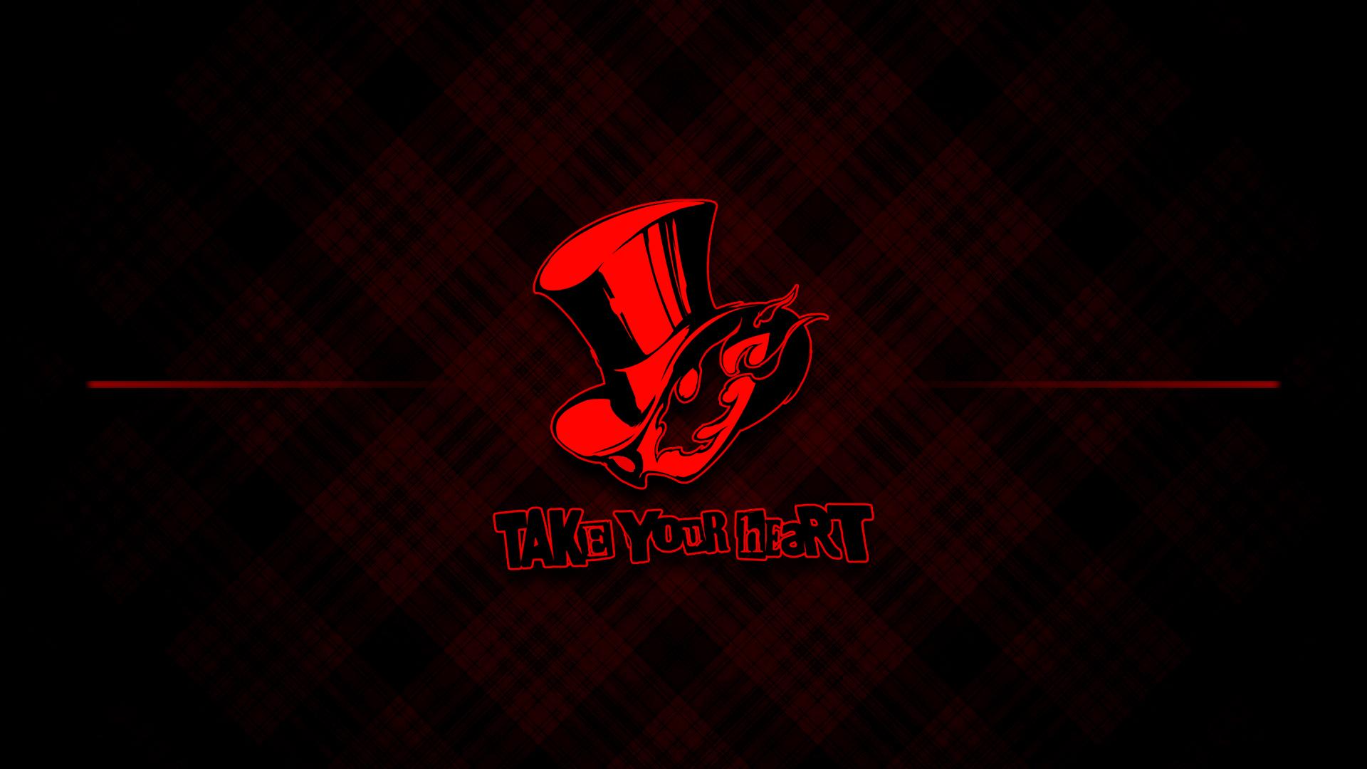 Persona 5 Wallpaper - Phantom Logo