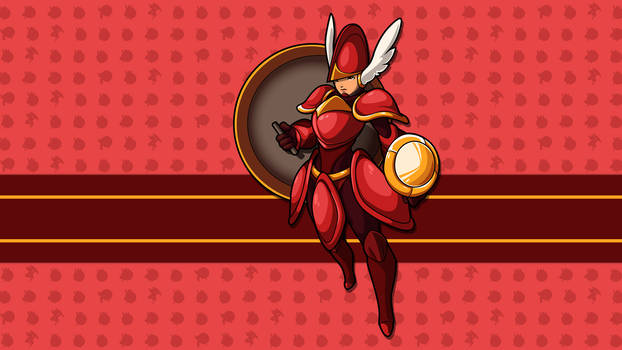 Shield Knight - HD Sprite Wallpaper