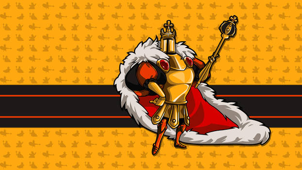 King Knight - HD Sprite Wallpaper