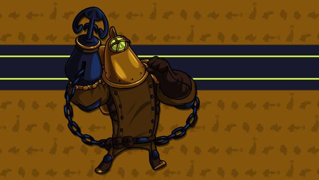 Treasure Knight - HD Sprite Wallpaper