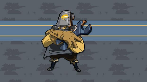 Tinker Knight - HD Sprite Wallpaper