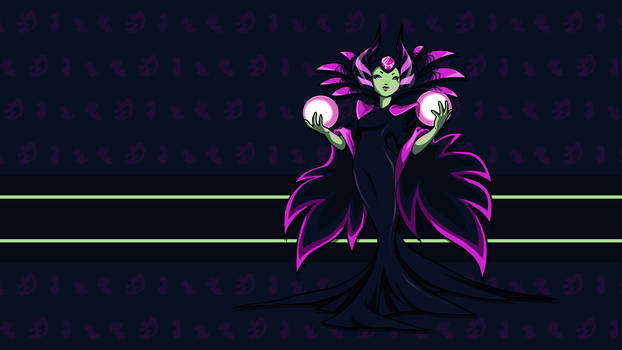 The Enchantress - HD Sprite Wallpaper