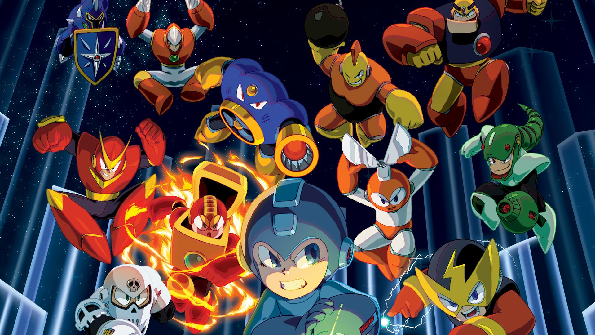 Mega Man Legacy Collection - Wallpaper 1
