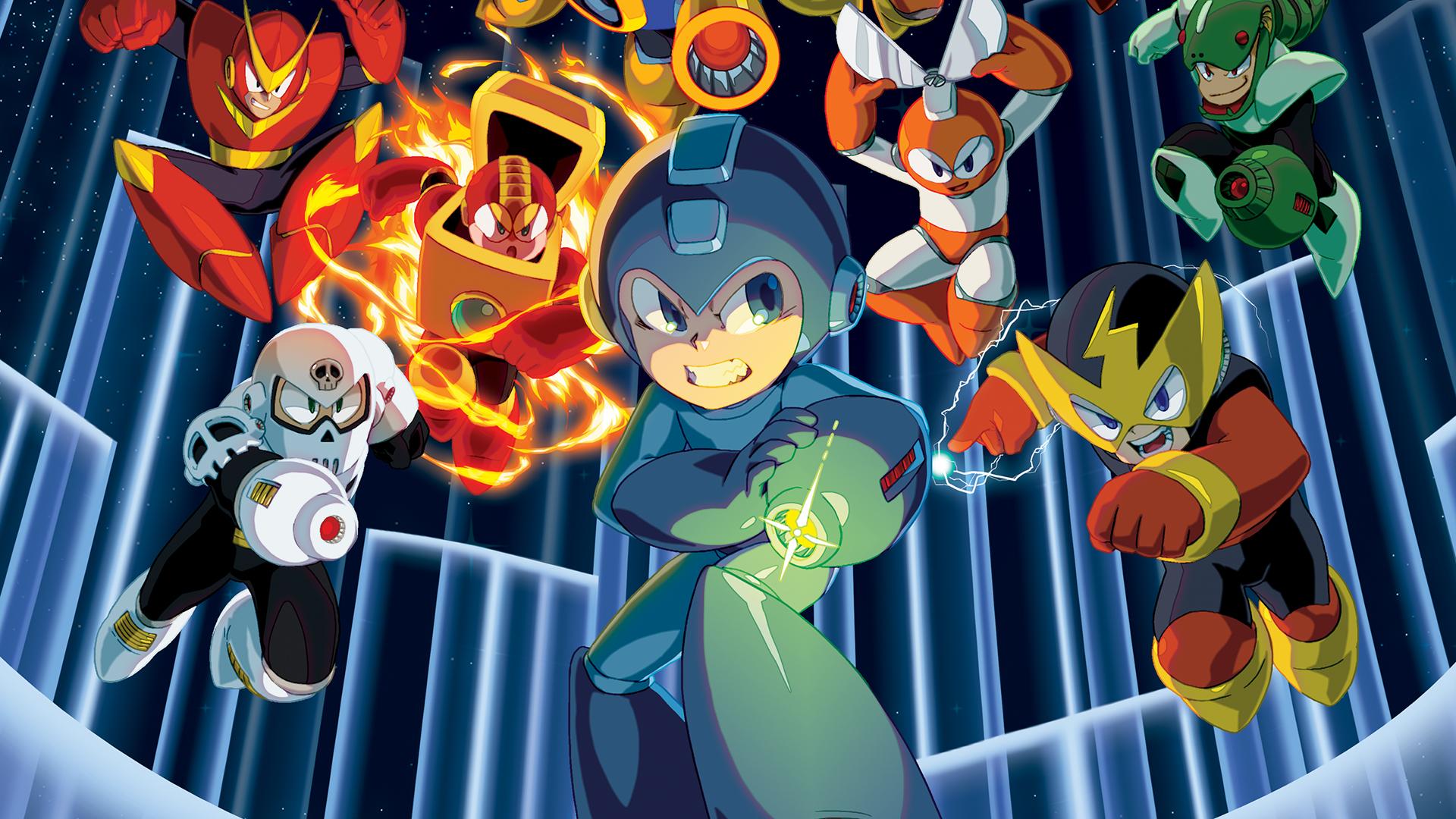 Mega Man Legacy Collection - Wallpaper 2 by seraharcana