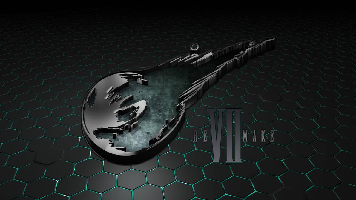Final Fantasy VII Remake Logo Wallpaper by seraharcana on ...