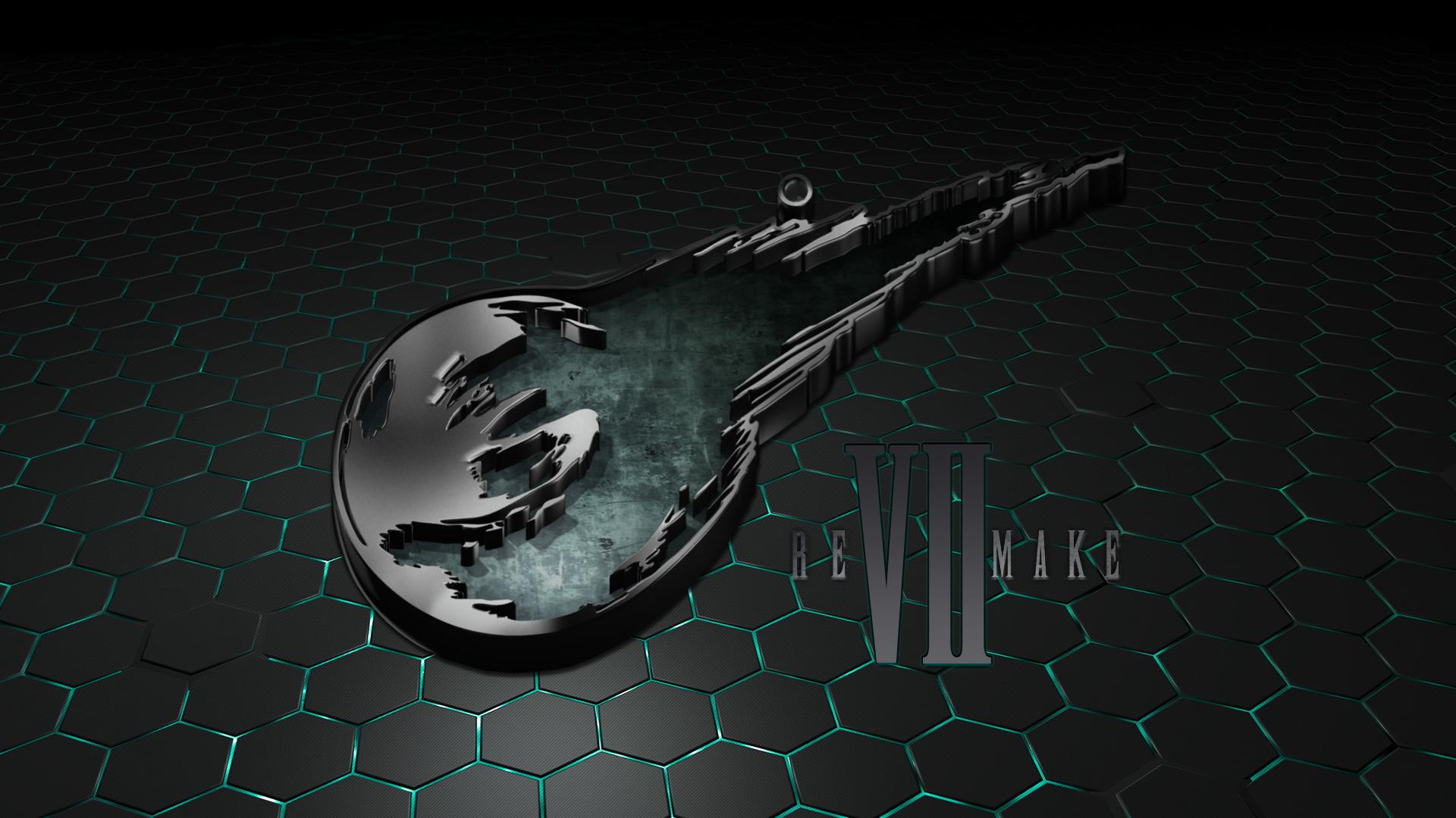 Final Fantasy Vii Remake Logo Wallpaper By Seraharcana On Deviantart