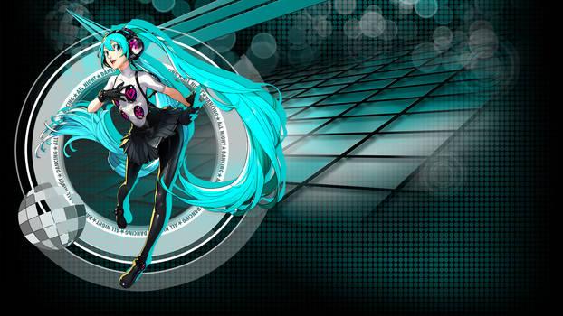 Persona 4 DAN - Hatsune Miku HD Wallpaper