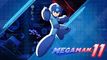 Mega Man 11 Wallpaper - Double Gear Variant