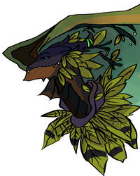 Commission 4- Jungle by wotsukai