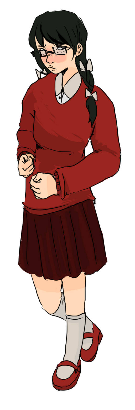 Lillian ( commission) by wotsukai