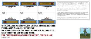 Phillanian Navy Kumandante Angelo-class Frigate