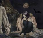 The Night of Enitharmon's Joy - Krita Masterstudy by BethellisHeavelyn