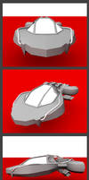Scout Ship by thinsoldier