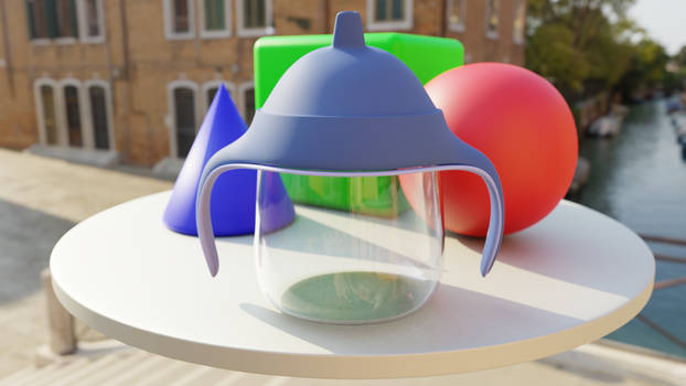 Philips Avent Sippy Cup re-render